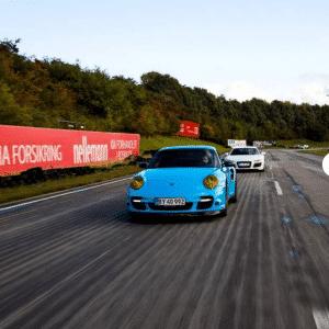 Kør Porsche på bane - oplevelser i danmark